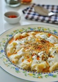 トルコの家庭料理☆マントゥ(水餃子)