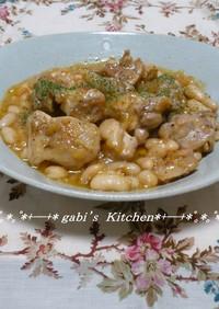 ☆鶏肉とお豆のシンプル煮込み☆