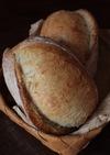 自家製酵母のフランスパン(ストレート法)