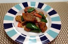 豚肉ヒレ肉の味噌炒め