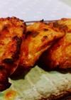 キムチの残り汁で簡単タンドリー風チキン