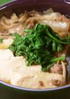 豆腐とキノコの牛煮