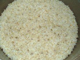 炊飯器でメッチャ簡単スグに☆美味しい玄米の炊き方