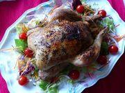 クリスマス♪鶏の丸焼き(ローストチキン)の写真