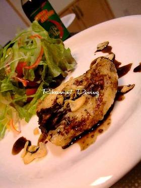 メカジキのステーキ☆バルサミコソース