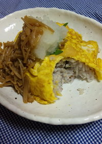 雑穀米de簡単和風オムライス★