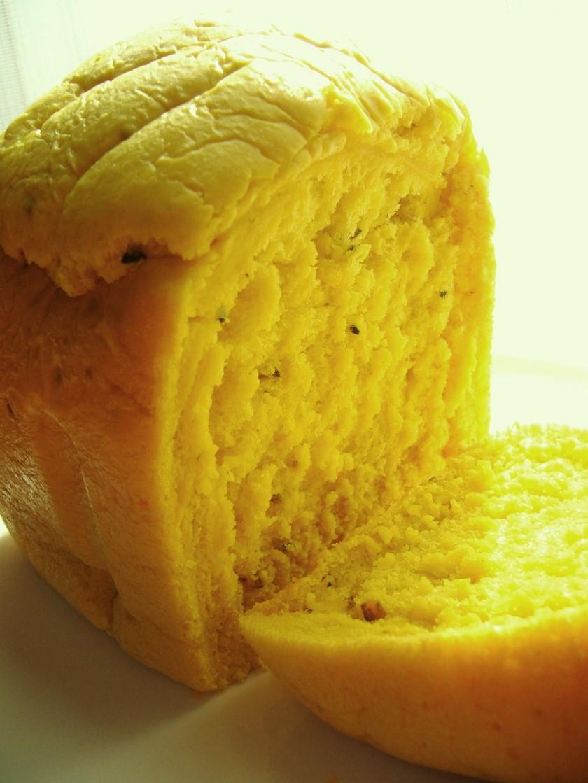 HBでふわっふわ♡かぼちゃ食パン