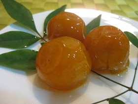 下処理は簡単、圧力鍋で金柑の甘露煮