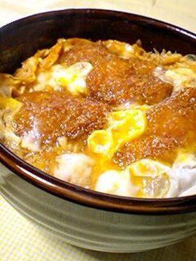 1人前♪おいし~カツ丼タレ&作り方♡