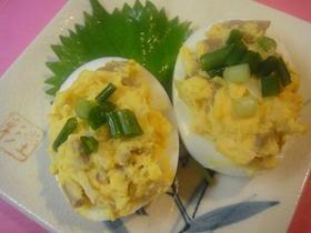 中華風味なゆで卵