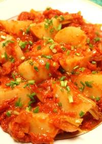 うまみがぎゅ~っと詰まったかぶのトマト煮