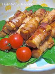 高野豆腐の肉巻の写真