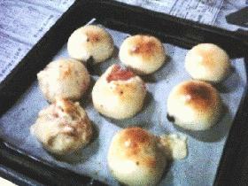 50分♪ベーキングパウダーでパン作っちゃお