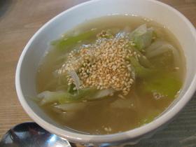 風邪の予防に☆長ネギのスープ