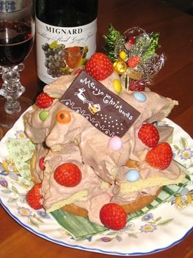 '09 クリスマス★ツリーケーキ