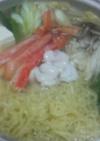 *「中華三昧」~海鮮蟹しゃぶラーメン鍋*