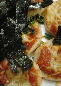 ♡長芋ソテーdeピリッと味噌和風ピザ♡