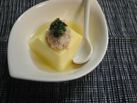 ♡カニ酢だけで美味しい卵豆腐の食べ方♡