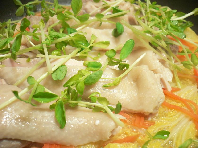 フライパンde✿白菜と鶏の簡単酒蒸し✿