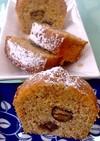 栗のブランデーケーキ 剥き甘栗で簡単