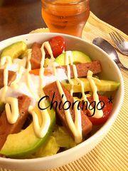 とっておき♡cafeのアボカド&スパム丼の写真
