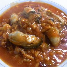 簡単中華 牡蠣のチリソース タマゴ添え