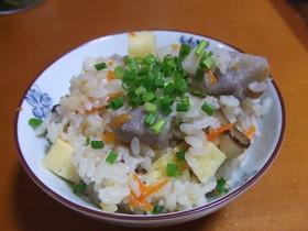 トゥンジージューシー☆沖縄冬至炊き込ご飯