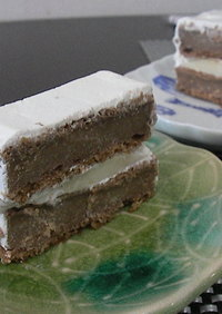 キャラメル・デビルズフードケーキ。