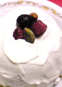 あのムースでSSピスタチオケーキ