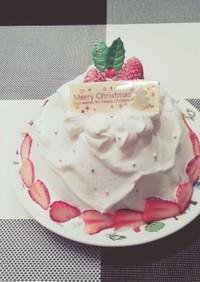 初心者でも簡単!モントンでドームケーキ♡
