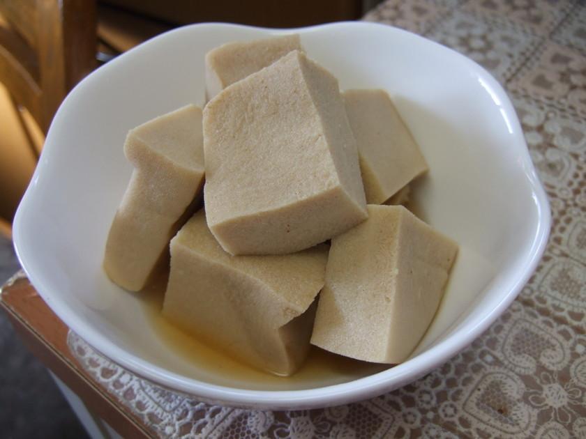 やさしい~基本の高野豆腐煮