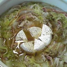 チーズを絡めて♪白菜と豚のミルフィーユ鍋