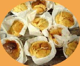 ホットケーキミックスで作るチーズカップケーキ☆