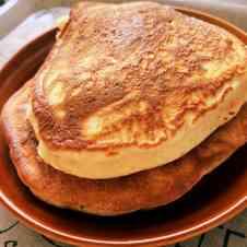 小麦粉 ホット ケーキ ベーキング パウダー なし