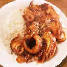 みんなが作ってる】 イカ丼のレシピ 【クックパッド】 簡単