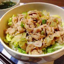 みんなが作ってる】 ネギ塩 豚丼のレシピ 【クックパッド】 簡単