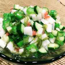 みんなが作ってる】 オクラ 長芋 サラダのレシピ 【クックパッド