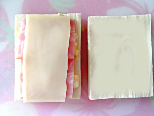 高野豆腐 ホットサンド