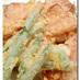 魚肉ソーセージの天ぷら