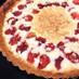 苺の焼き込みタルト