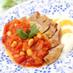 豚肉と大豆のトマト煮♡