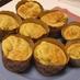 ホットケーキmix☆りんごのカップケーキ
