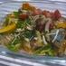 ブリと彩り野菜の南蛮炒め