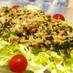 豚挽肉とミントのサラダ(ラーブ)@ラオス