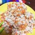 豆腐とひき肉の甘辛味噌そぼろのレタス巻き
