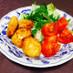 鮭缶と豆腐のさくふわ揚げ