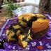 ハロウィンに♪かぼちゃ&ココアのシフォン