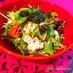キムチ・豆腐・水菜のもりもりサラダ!