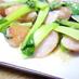 青梗菜とウインナのマヨ炒め
