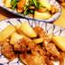 トロトロ豚とかぶの甘辛炒め